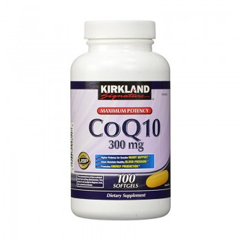 БАД для сердца Maximum Potency CoQ10 Kirkland Signature, 300мг 100 капсул