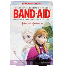 Пластырь бактерицидный Johnson & Johnson Band-Aid, 20 штук