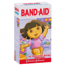 Пластырь бактерицидный Johnson & Johnson Band-Aid, 25 шт.