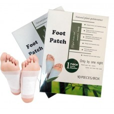 Пластырь шлаковыводящий Natural Plant Quintessence Foot Patch Toxins Dispelled