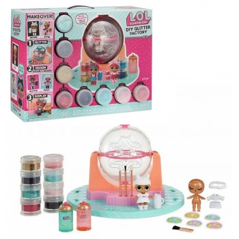 Игровой набор MGA Entertainment LOL DIY Glitter Factory