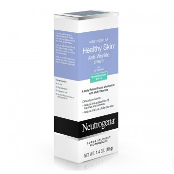 Антивозрастной крем от морщин Neutrogena Healthy Skin Anti-Wrinkle Cream, Broad Spectrum SPF 15, 1.4oz/ 40 г