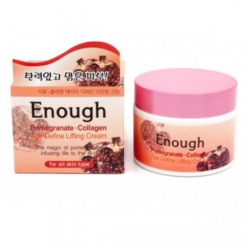 Массажный и очищающий крем Enough Pomegranate Therapy Cleansing Massage Cream Coenzyme Q10 (гранат)