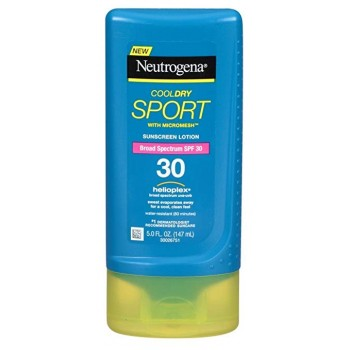 Cолнцезащитный крем Neutrogena SPF 30 CoolDry Sport Sunscreen Lotion 147 мл
