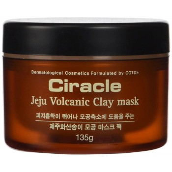 Маска для лица с вулканической глиной Ciracle Jeju Volcanic Clay 135 г