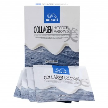 Гидрогелевая маска для лица с коллагеном Misoli Collagen Hydrogel Mask Pack 4 штуки