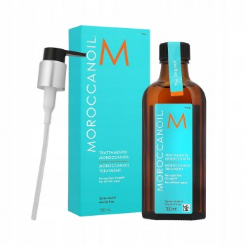 Аргановое восстанавливающее масло для волос Moroccanoil Treatment Light, 100 мл