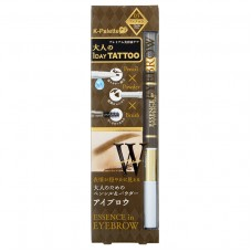 Карандаш для бровей 1 Day Tattoo Essence in Eyebrow 01,03 Pencil & Powder & Brush Makeup K-Palette