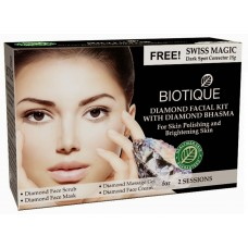 Набор для лица Алмаз Biotique Diamond facial kit With Diamond Bhasma