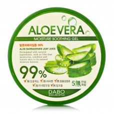 Гель для душа с алое Dabo Soothing & Moisturizing 99% Natural Aloe Vera gel