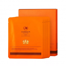 Набор масок для лица Guerisson 9 Complex Horse Oil Hydrogel Gold Mask 25 г