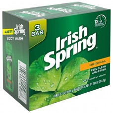 Мыло Irish Spring Original Deodorant Bar Soap 3 штуки