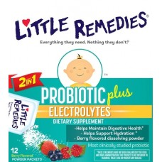 БАД Probiotic Plus Electrolytes Little Remedies, 12 пакетиков