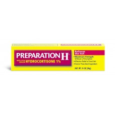 Мазь от геморроя Preparation H Anti-Itch Cream Hydrocortisone, 1% 26 г