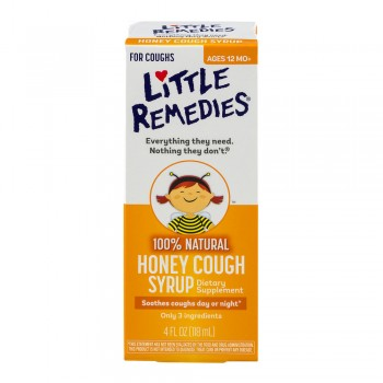 Сироп от кашля Cough Syrup Honey Little Remedies, 118 мл