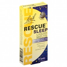 Капсулы от бессонницы Bach Original Flower Remedies Rescue Sleep Liquid Melts, 28 капсул