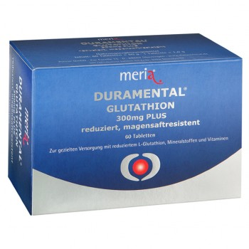 MERIA Duramental Glutathion (ДУРАМЕНТАЛ) 300 mg PLUS 60 шт