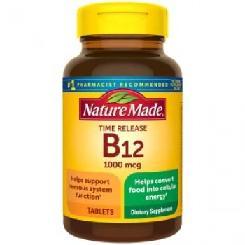 БАД витамин B-12 Vitamin B-12 Timed Release Nature Made, 1000 мкг 400 таблеток