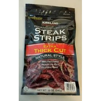 KIRKLAND STEAK STRIPS Вяленая говядина