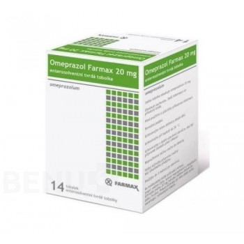 Омепразол (Omeprazol) Farmax 20 mg 14 табл