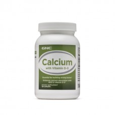 Витамин D3 с кальцием GNC Calcium with Vitamin D-3, 120 таблеток