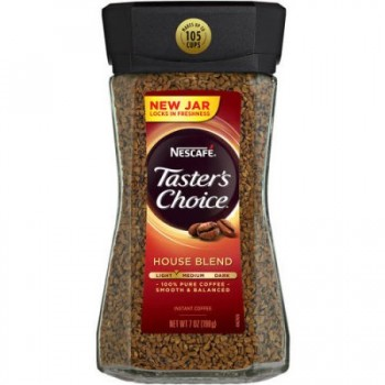 Nescafe Tasters Choice House Blend кофе растворимый 198 г.
