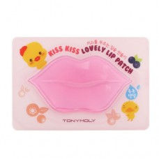 Tony Moly Kiss Kiss Lovely Lip Patch Маска для губ