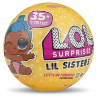 MGA Entertainment LOL Surprise Lil Sisters Series 3 Wave 2 ЛОЛ Сюрприз Лил Систерс (3 серия, 2 волна) Миниатюрная кукла в шаре