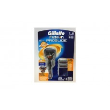 Gillette Fusion Proglide Flexball 1 Razor + 4 Cartridges Бритвенный станок