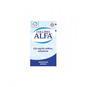 Collirio ALFA 0,8MG Капли для глаз 10 ml