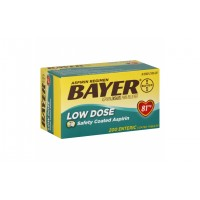 Bayer Aspirin Low Dose Аспирин 81 мг 200 таб