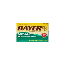 Bayer Aspirin Low Dose Аспирин 81 мг 400 таб