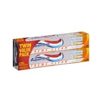 Aquafresh Extreme Clean Whitening Action Twin Pack Toothpaste Зубная паста 2x158г