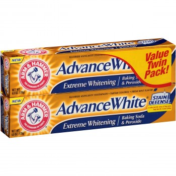 Зубная паста Arm & Hammer Advance White Extreme Whitening Twin Pack с пищевой содой 2х170 г