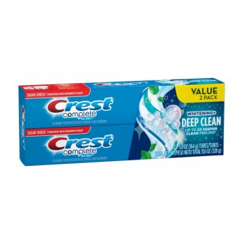 Зубная паста Crest Complete Multi-Benefit Whitening plus Deep Clean 2x164 г