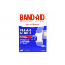 Пластырь Johnson & Johnson Band-Aid антисептик 45 шт.