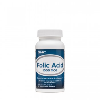 GNC Folic Acid 1000 MCG Фолиевая кислота
