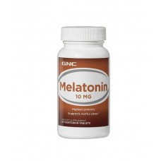 GNC Melatonin 10 mg Мелатонин 60шт