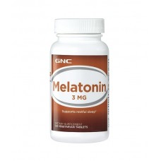 GNC Melatonin 3 mg Мелатонин 120шт