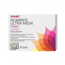 Комплекс витаминов для сердца GNC Women's Ultra Mega Heart для женщин