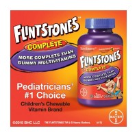 Flintstones Children's Vitamin 200 Chewable Tablets Multivitamin Chewy Витамины для детей