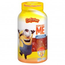 Витамины жевательные Vitafusion Lil Critters Despicable Me Complete Multivitamin Gummies 190 штук