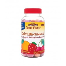 Витамины Nature Made Kids First Calcium+Vitamin D3 80 шт.