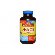 Nature Made Fish Oil Omega 3 250 капсул