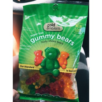 Мармеладные мишки Gummy Bears Sugar Free Gold Emblem, 92 гр