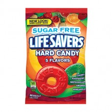 Конфеты для диабетиков Sugar Free 5 Flavors Hard Candies Life Savers