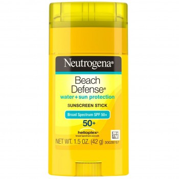 Солнцезащитный крем Neutrogena Beach Defense Water + Sun Barrier Sunscreen, SPF 50+ 42 г